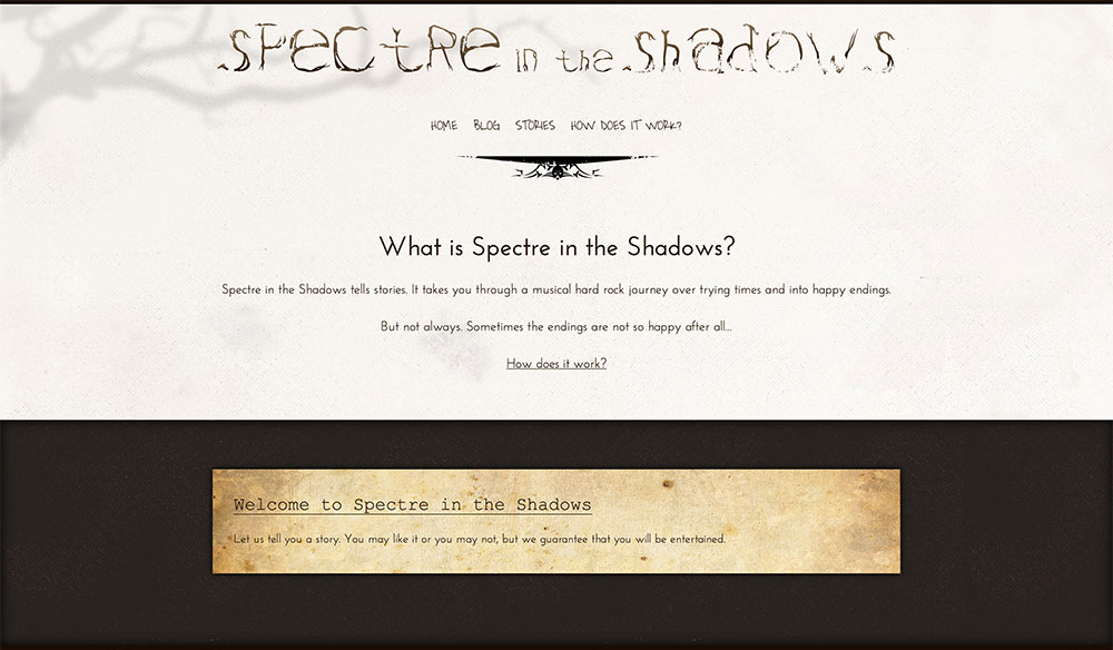Spectre in the Shadows